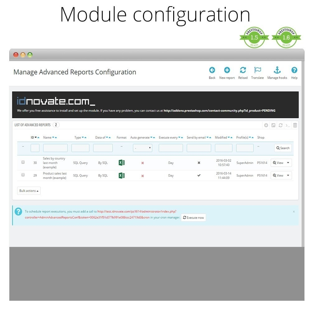 module - Comptabilité & Facturation - Advanced reports - 2