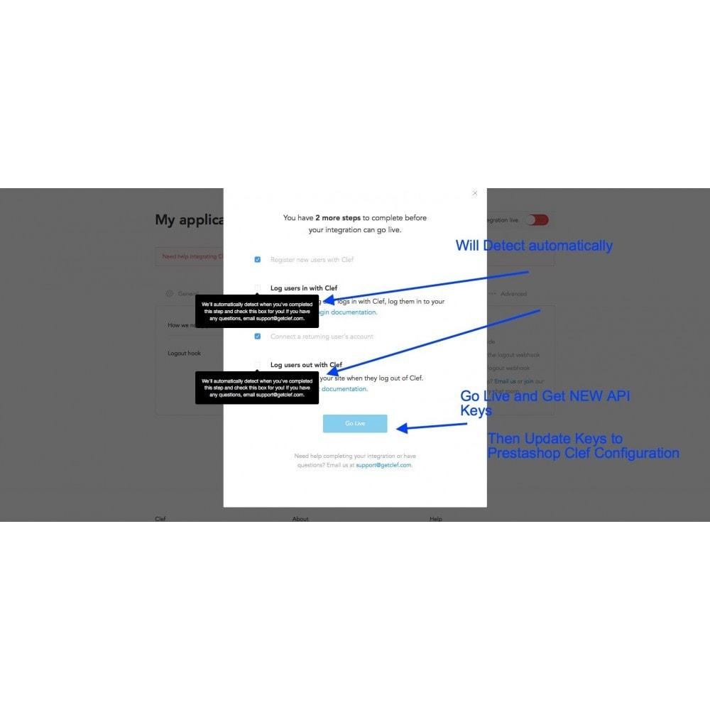 module - Bezpieczeństwa & Dostępu - Clef Secure Login 2-Factor - 4