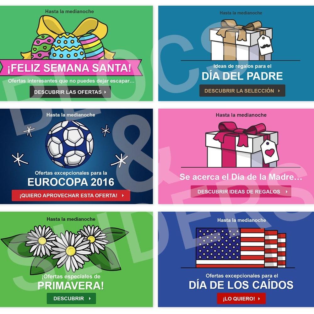 other - Material Visual para promociones online - 10 Imágenes promocionales - Primavera - 1