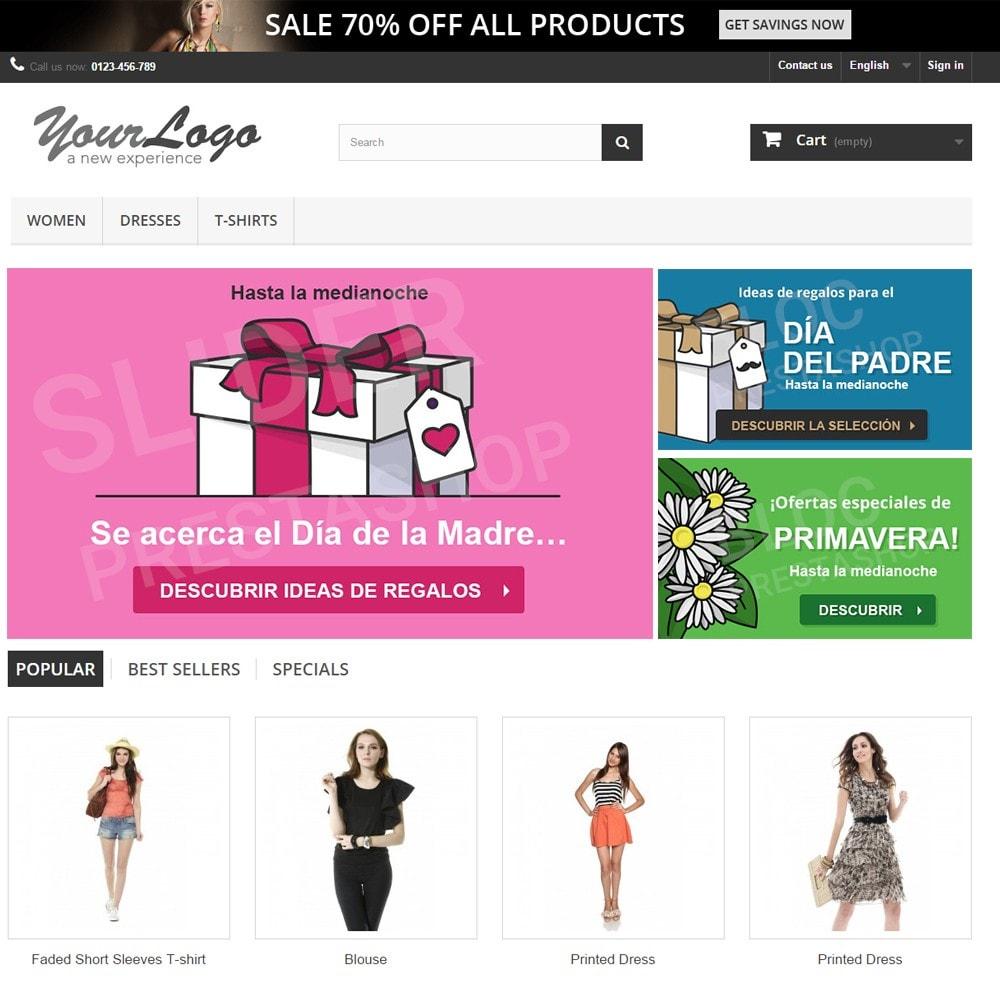 other - Material Visual para promociones online - 10 Imágenes promocionales - Primavera - 2