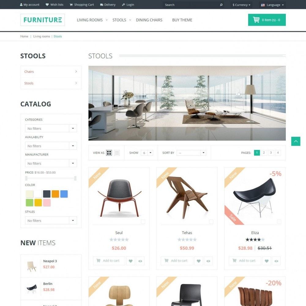 theme - Home & Garden - Furniture - Interior Shop - 2