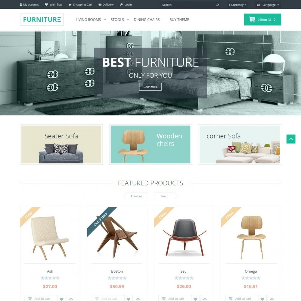 theme - Maison & Jardin - Furniture - Boutique Intérieur - 2