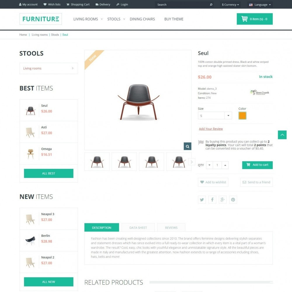 theme - Maison & Jardin - Furniture - Boutique Intérieur - 4