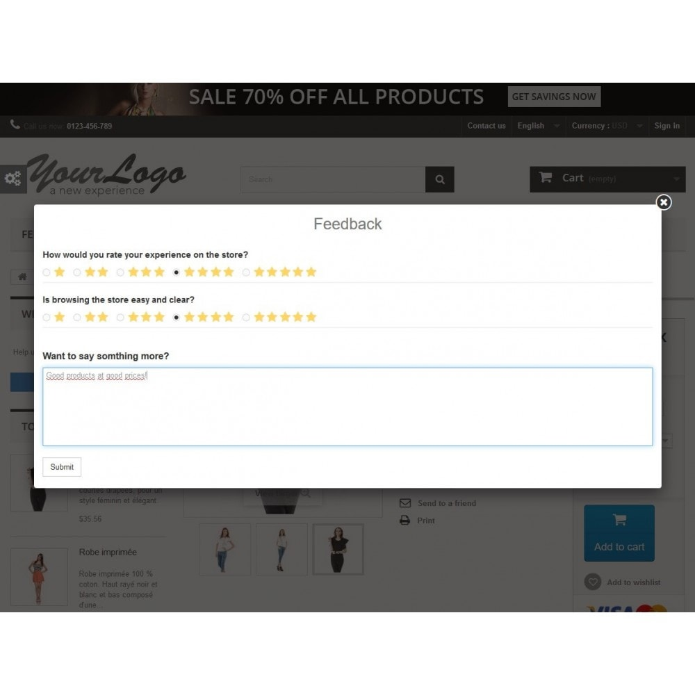 module - Recensioni clienti - Rich Feedback : customers satisfaction and opinion - 1