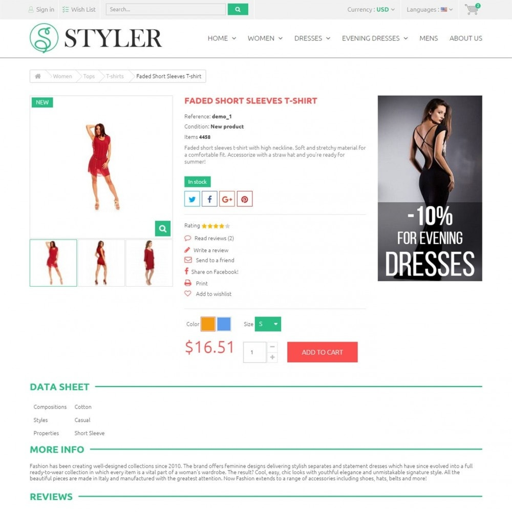 theme - Fashion & Shoes - Styler Shop - Сlothes Store - 4