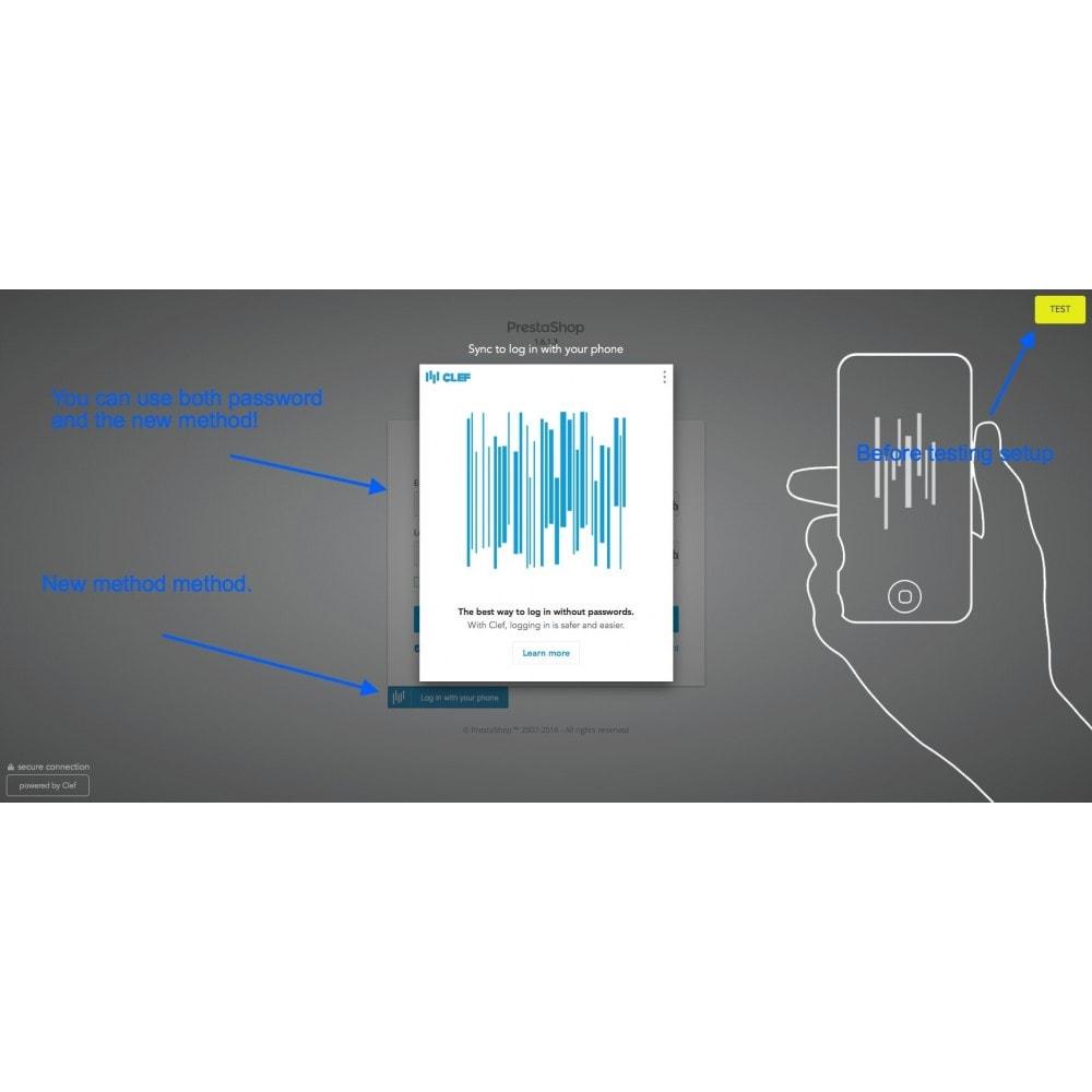 module - Sécurité & Accès - Clef Secure Login 2-Factor - 8