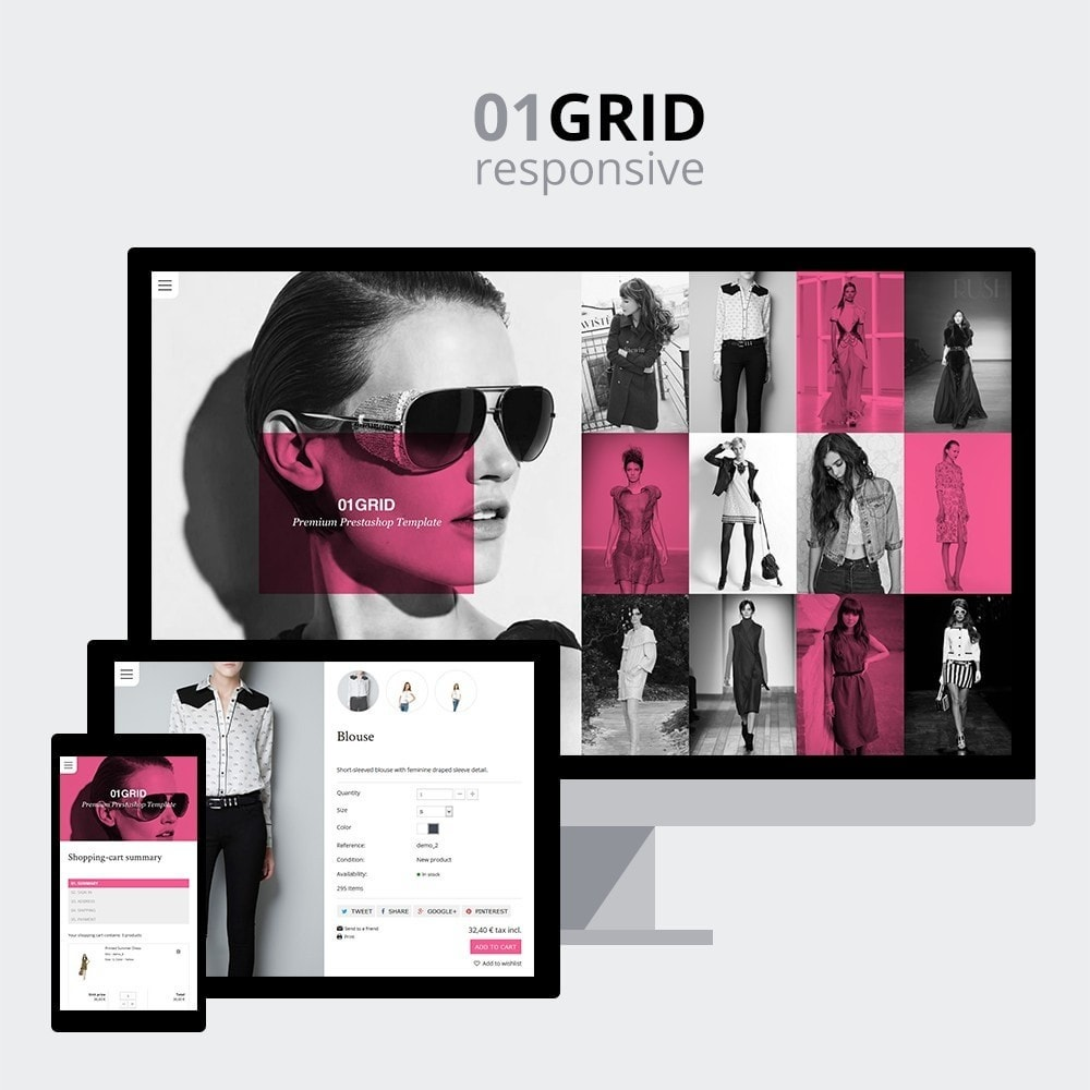 theme - Mode & Chaussures - 01 Grid - 2