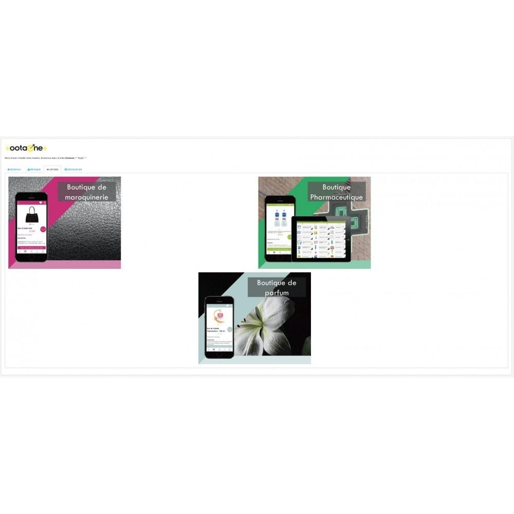 module - Mobile - OOtaone relie votre site avec une Apps IOS/ANDROID - 3