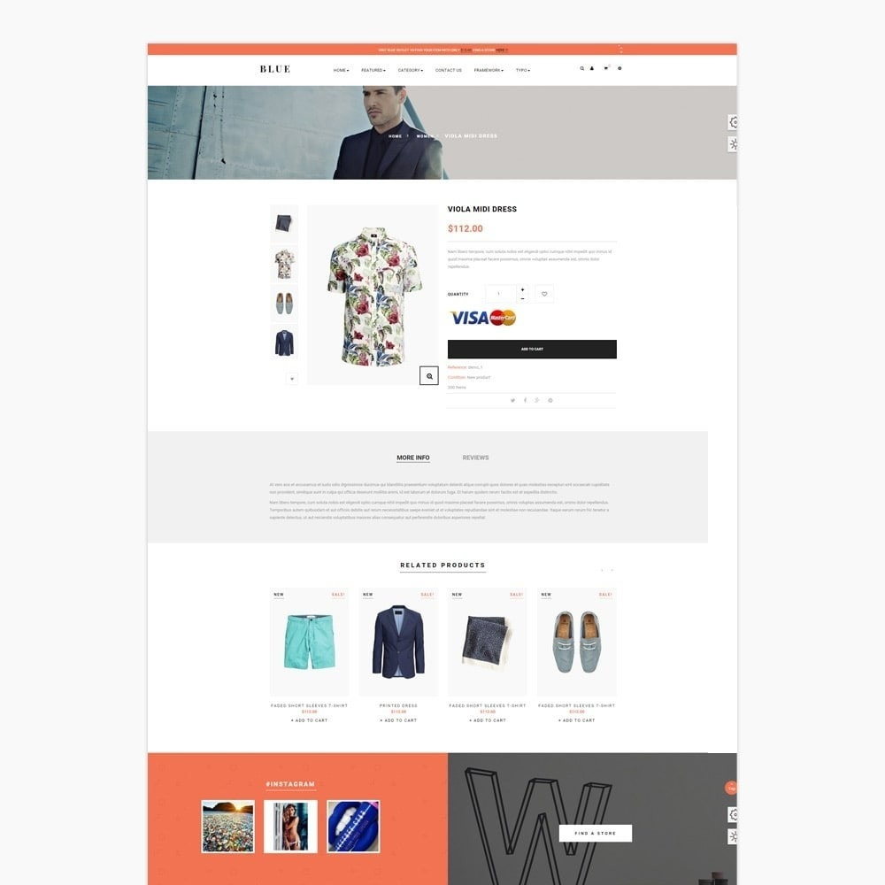 theme - Moda & Calzature - Leo Blue - 4
