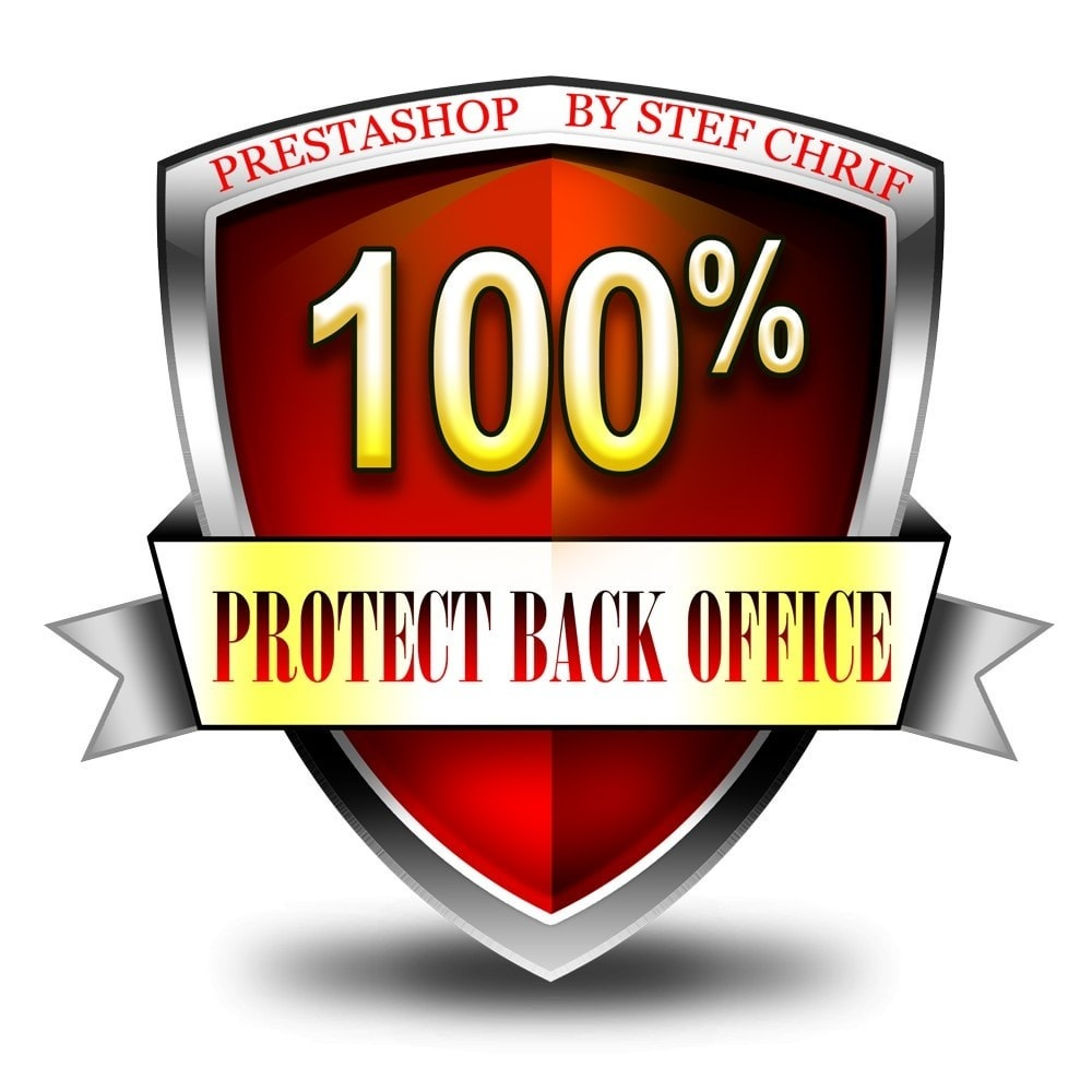 module - Security & Access - Protect your administration (Back Office) - 1