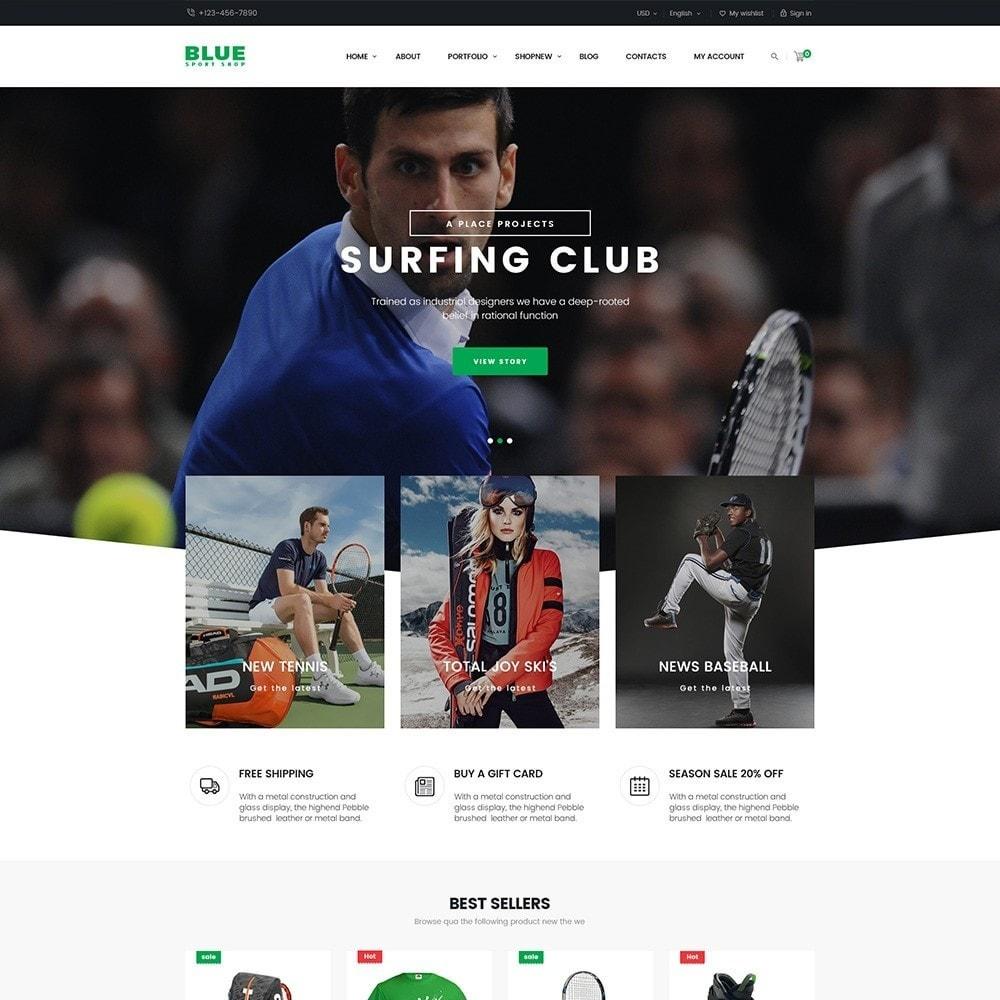 theme - Deportes, Actividades y Viajes - BlueSport - 4