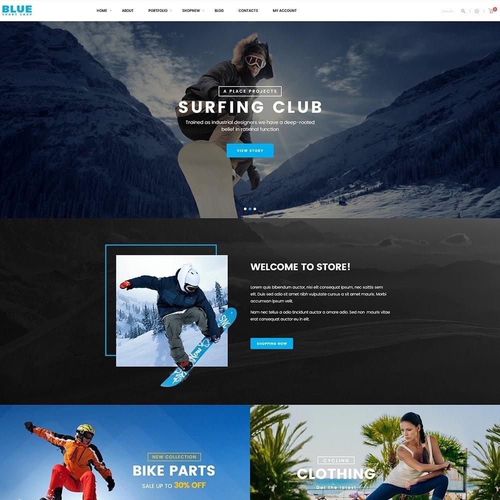 theme - Deportes, Actividades y Viajes - BlueSport - 5