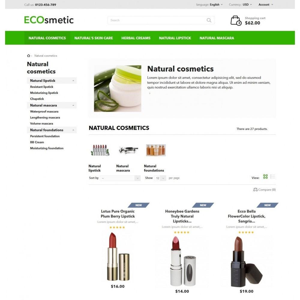 theme - Salud y Belleza - ECOsmetic - 5