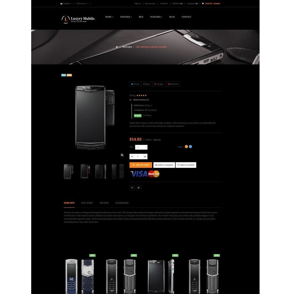 theme - Elektronica & High Tech - Ap Luxury Mobile Responsive - 2