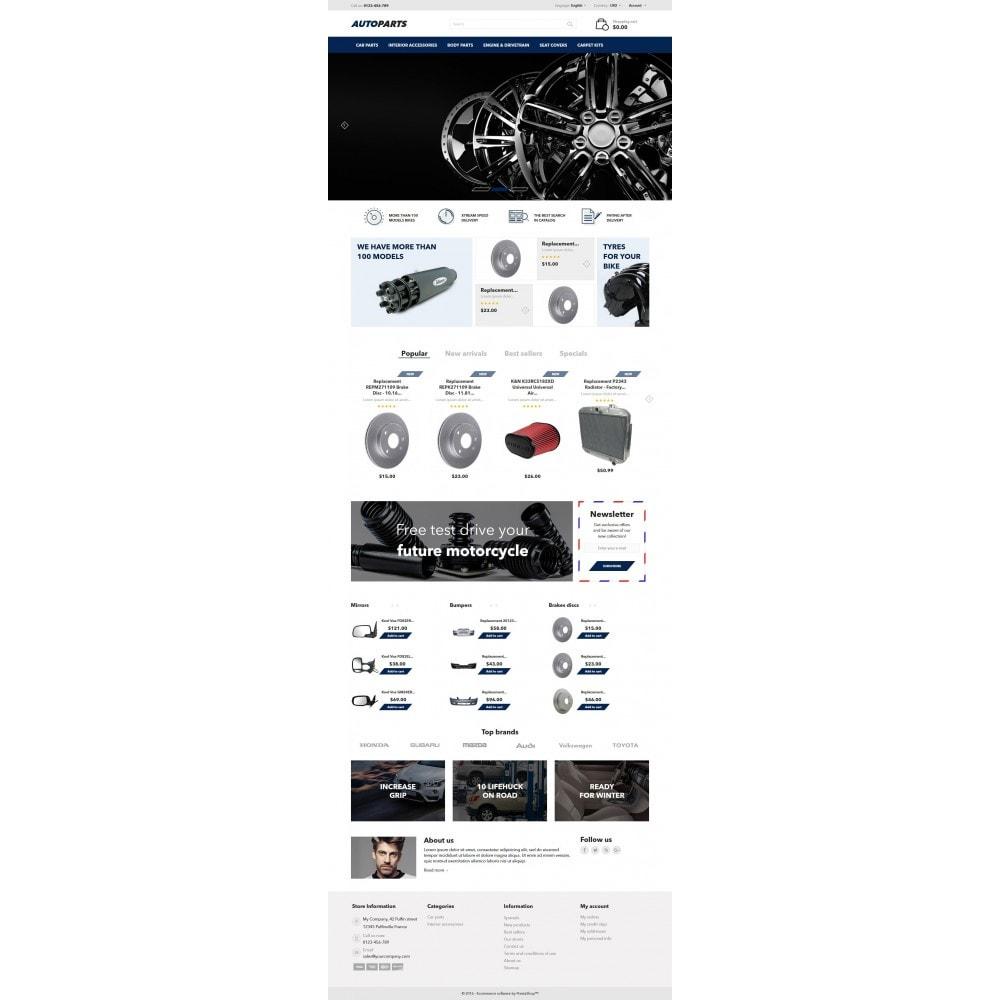 theme - Carros & Motos - AutoParts - 4
