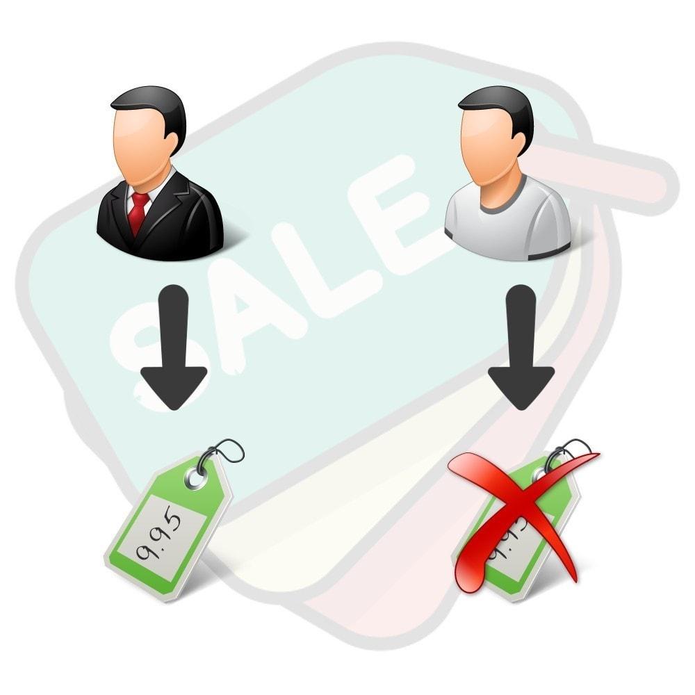 module - Zarządzanie cenami - Hide prices easily - 1