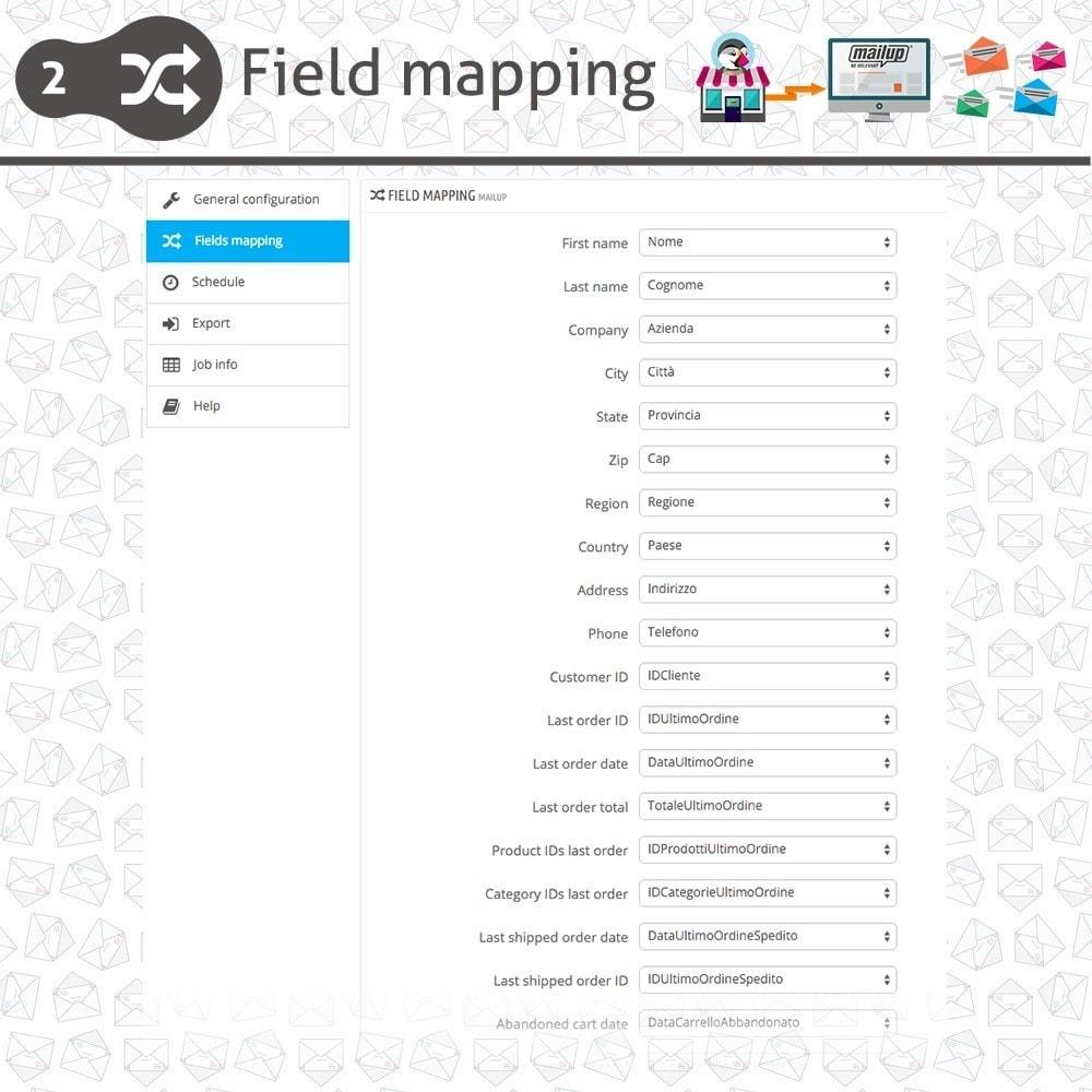 module - Newsletter & SMS - Module MailUp - 4