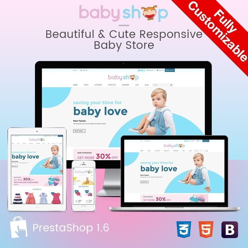 theme - Zabawki & Artykuły dziecięce - BabyShop - Babies, Children & Kids Responsive Store - 1