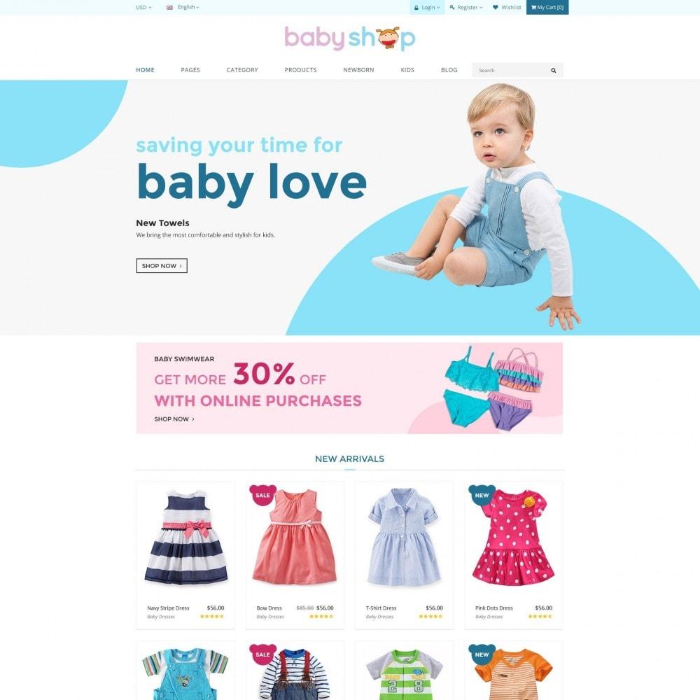 theme - Zabawki & Artykuły dziecięce - BabyShop - Babies, Children & Kids Responsive Store - 2