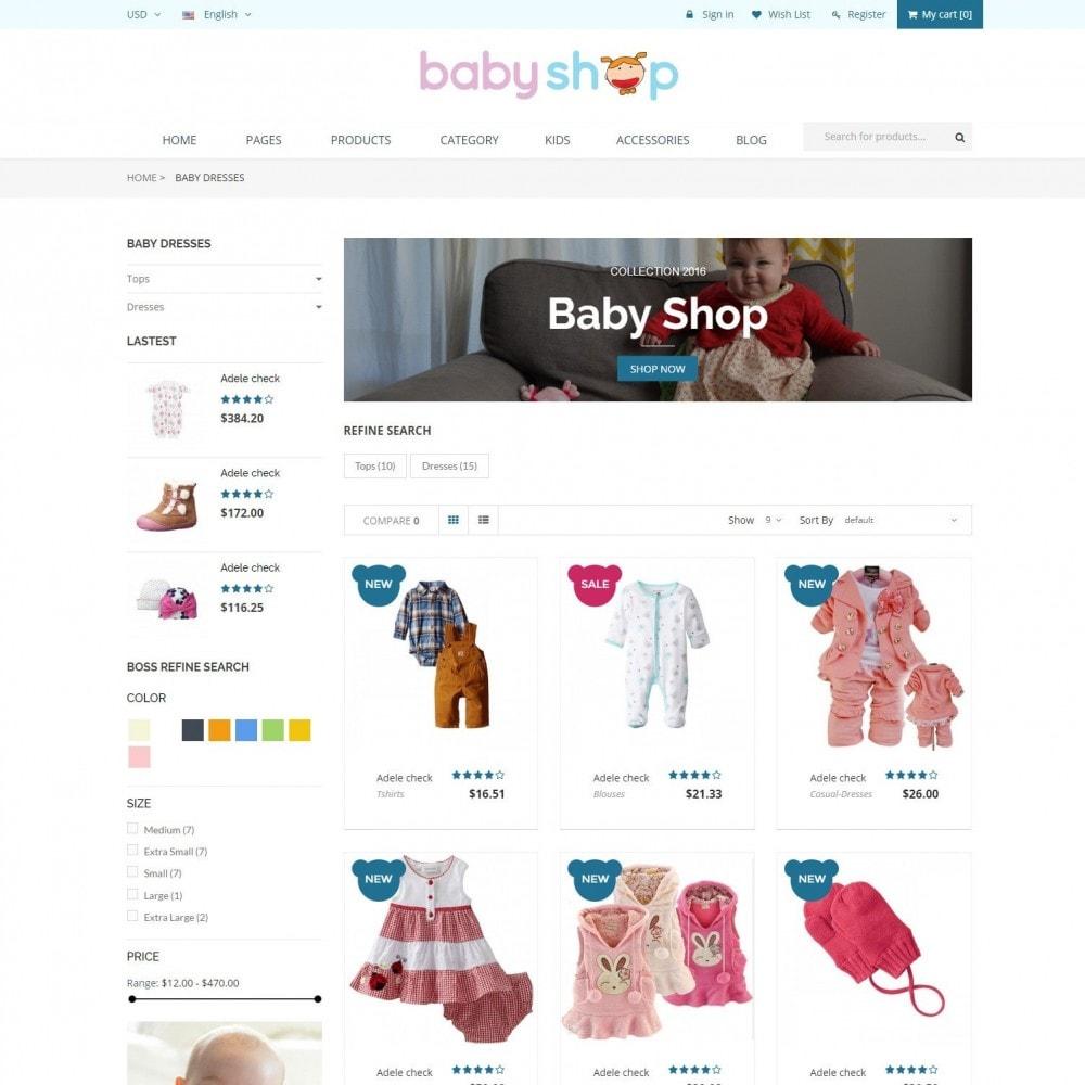 theme - Zabawki & Artykuły dziecięce - BabyShop - Babies, Children & Kids Responsive Store - 3