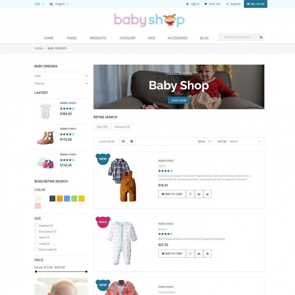 theme - Zabawki & Artykuły dziecięce - BabyShop - Babies, Children & Kids Responsive Store - 4