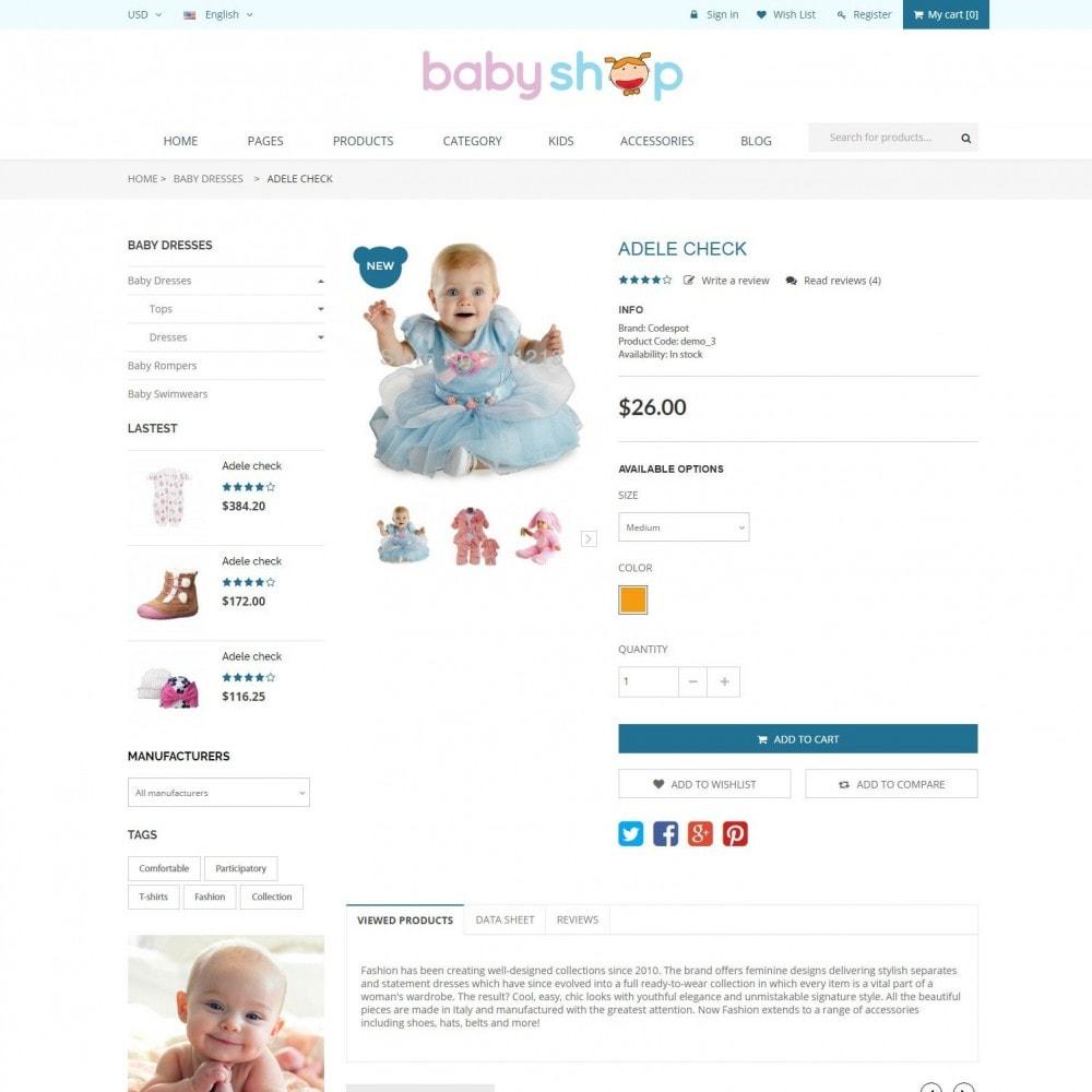theme - Zabawki & Artykuły dziecięce - BabyShop - Babies, Children & Kids Responsive Store - 5