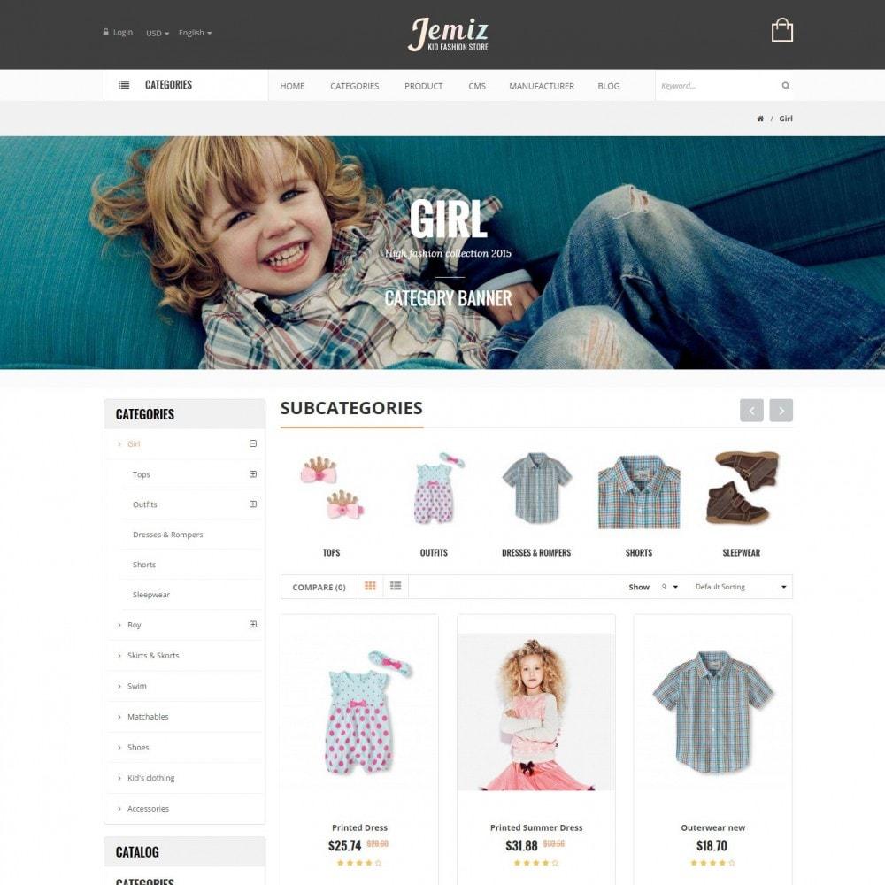 theme - Kinderen & Speelgoed - Jemiz - Childrens,Babies, Kids Fashion Responsive Store - 3