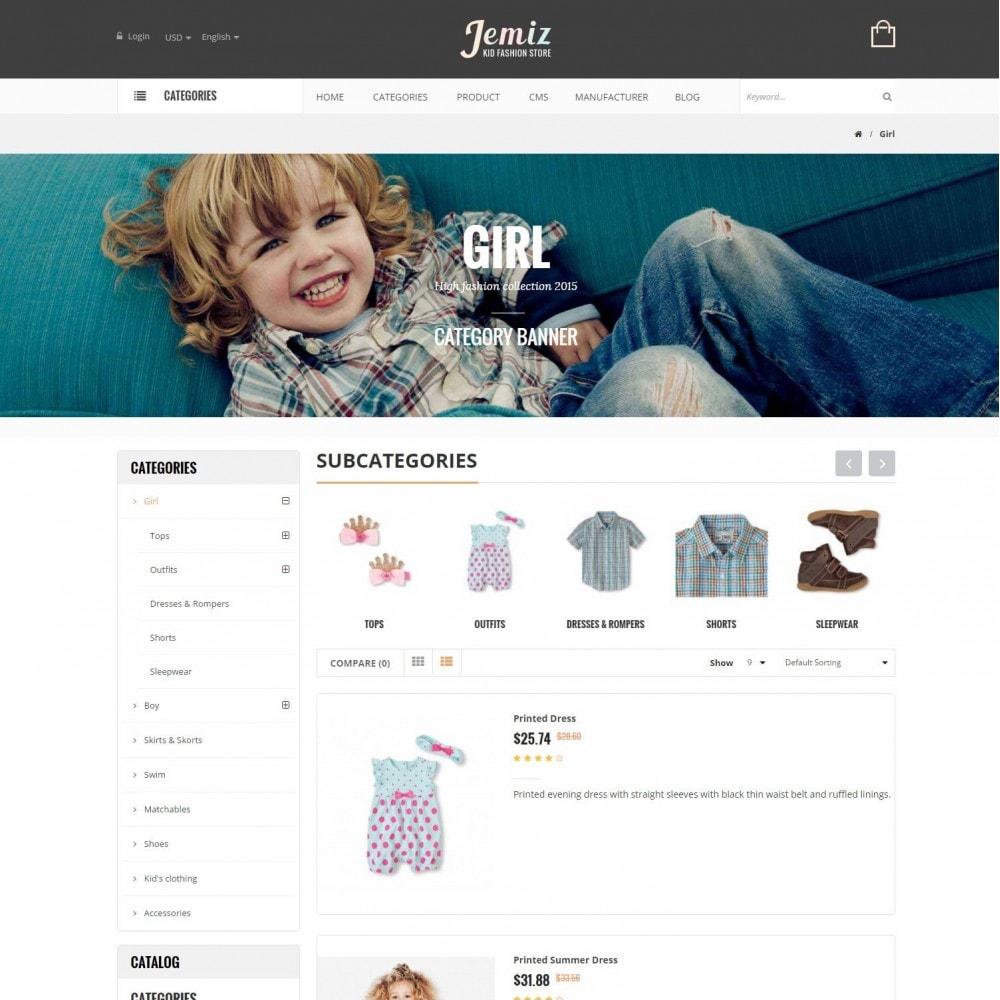 theme - Kinderen & Speelgoed - Jemiz - Childrens,Babies, Kids Fashion Responsive Store - 4