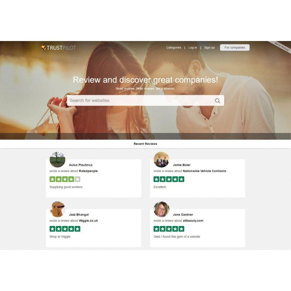 module - Avis clients - TrustBox - TrustPilot Ratings Widget - 3