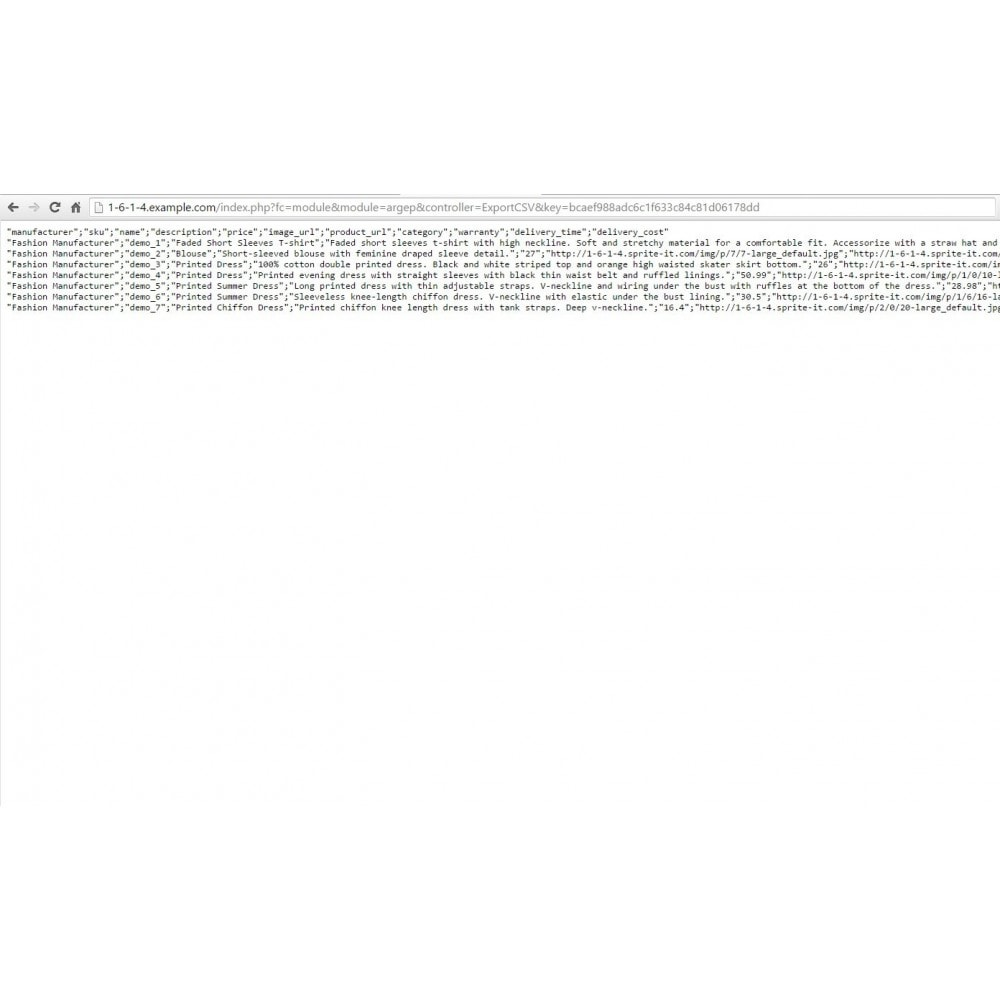 module - Comparatori di prezzi - Argep Product Feed - 3