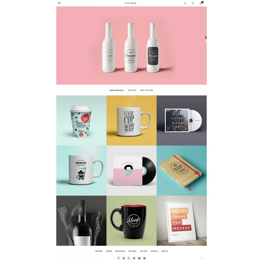 theme - Gifts, Flowers & Celebrations - GIFTSHOP Responsive 1.6 - 2