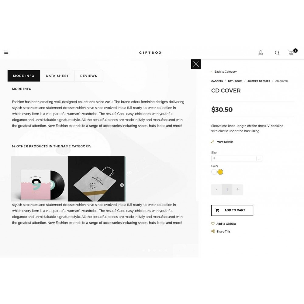 theme - Gifts, Flowers & Celebrations - GIFTSHOP Responsive 1.6 - 6