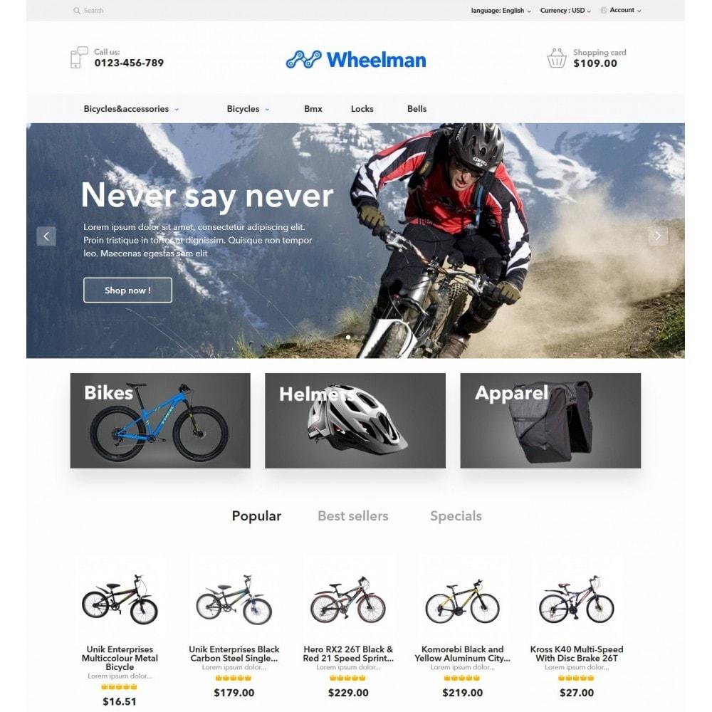 theme - Desporto, Actividades & Viagens - WheelMan Bike Store - 2