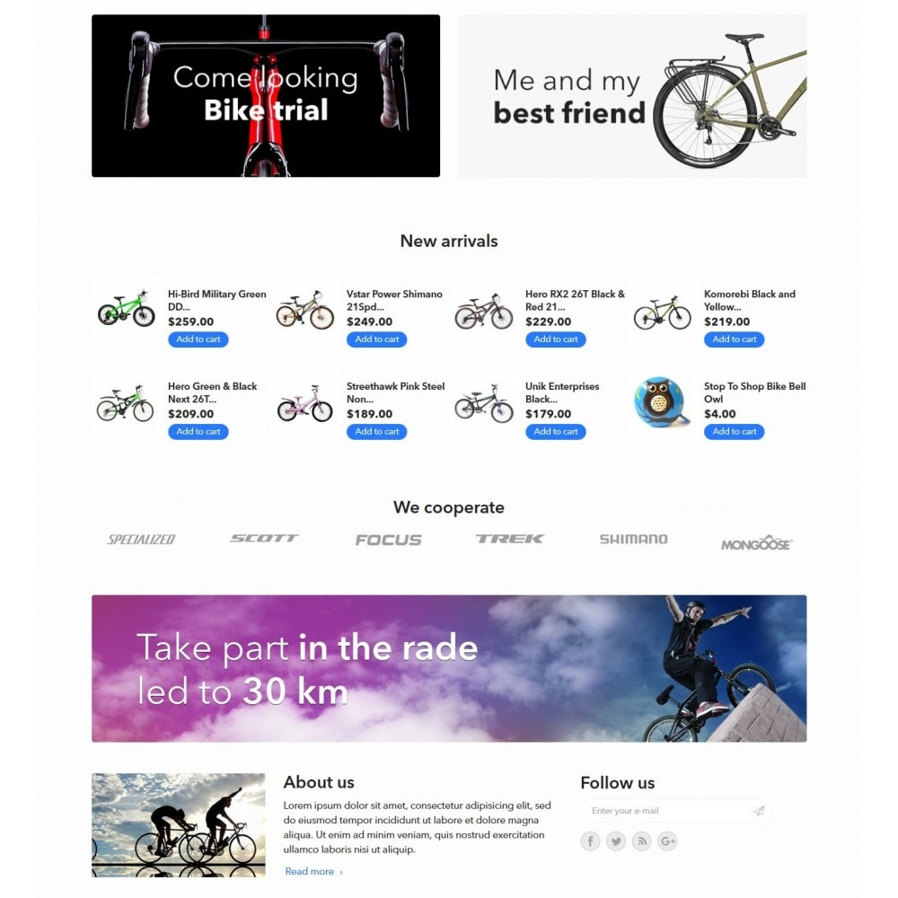 theme - Desporto, Actividades & Viagens - WheelMan Bike Store - 3