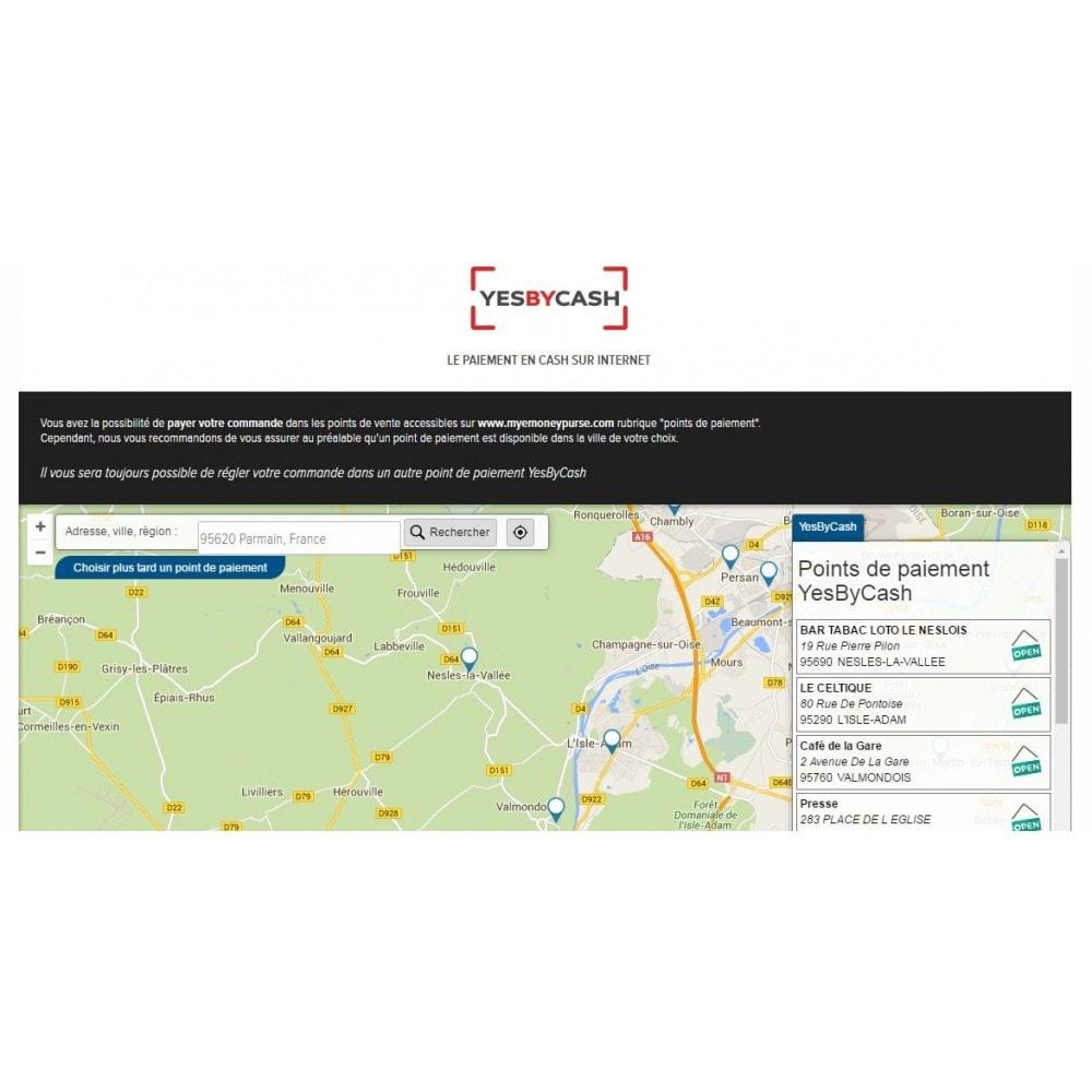 module - Paiement en Magasin - YesByCash – Paiement en espèces sur internet - 1