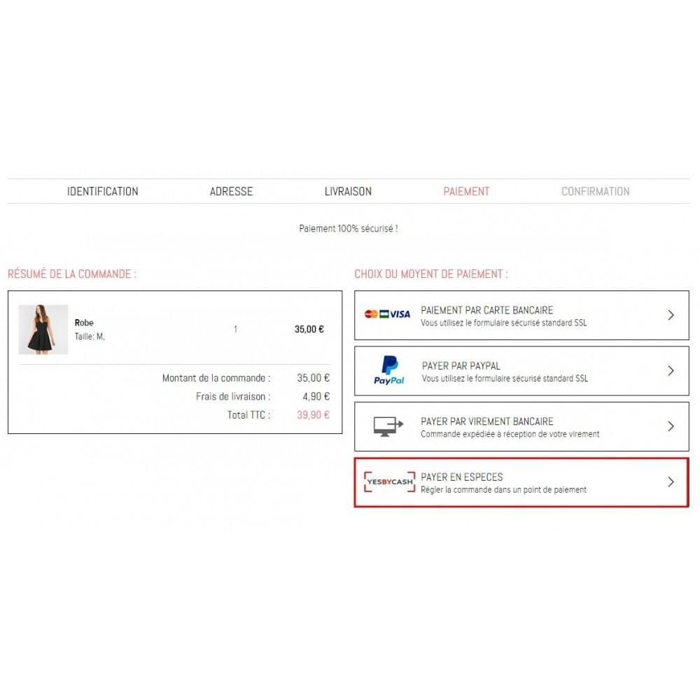 module - Paiement en Magasin - YesByCash – Paiement en espèces sur internet - 3