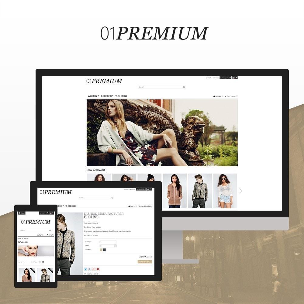 theme - Moda y Calzado - 01 Premium - 1