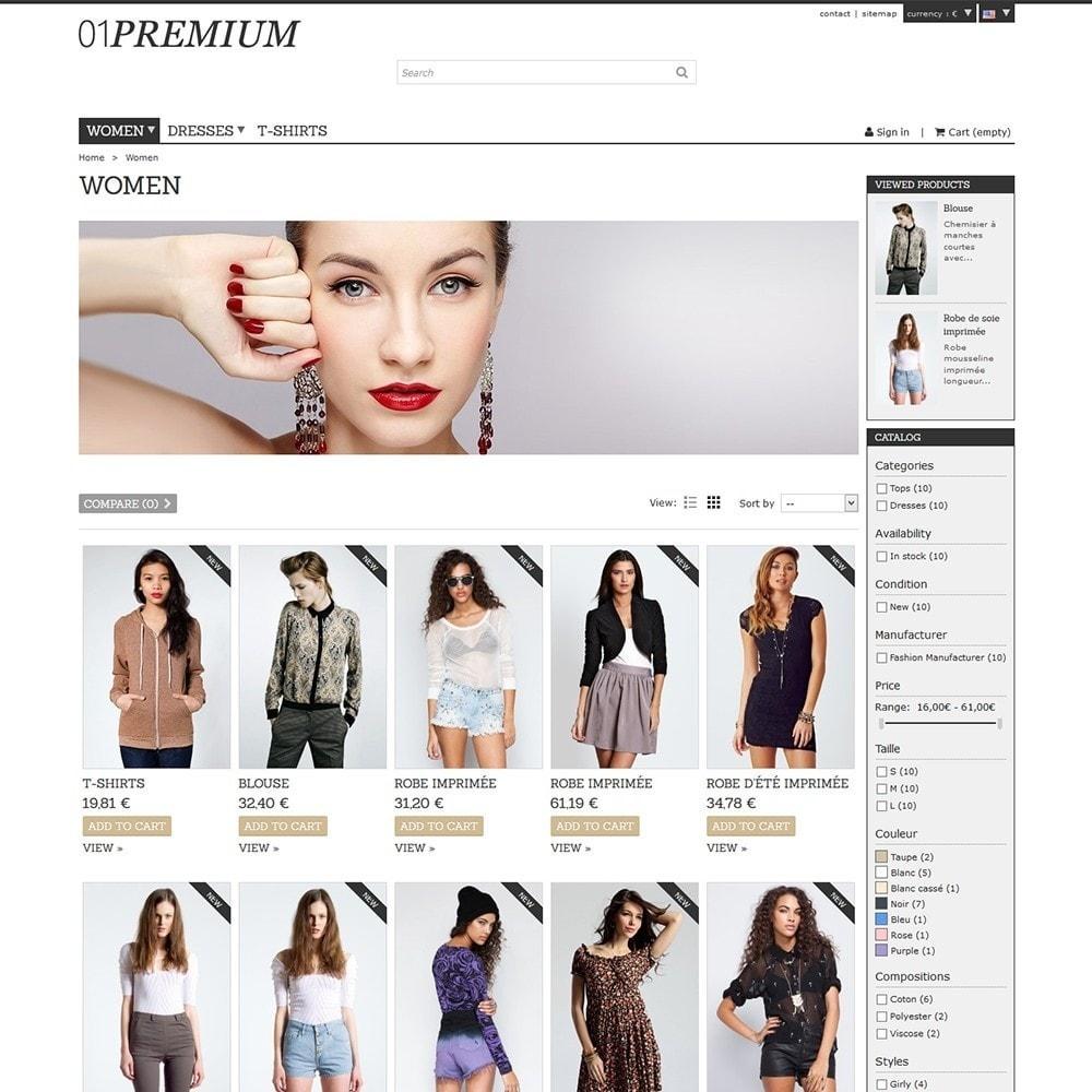 theme - Moda & Calzature - 01 Premium - 5