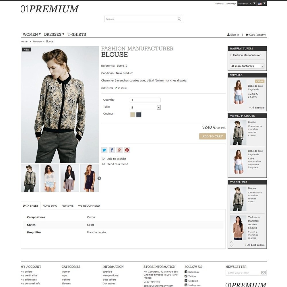 theme - Moda & Calzature - 01 Premium - 6