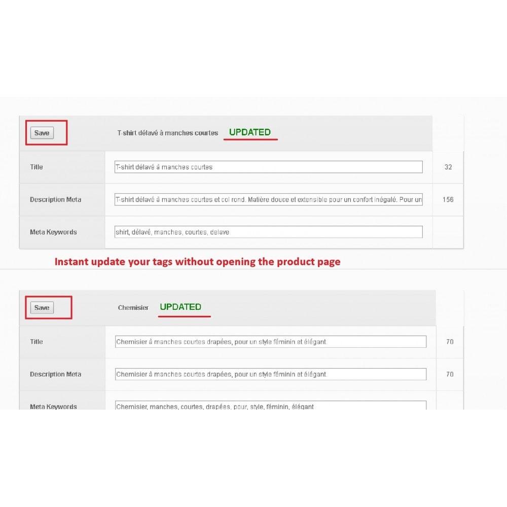 module - Естественная поисковая оптимизация - META TAGS EDITOR - 3