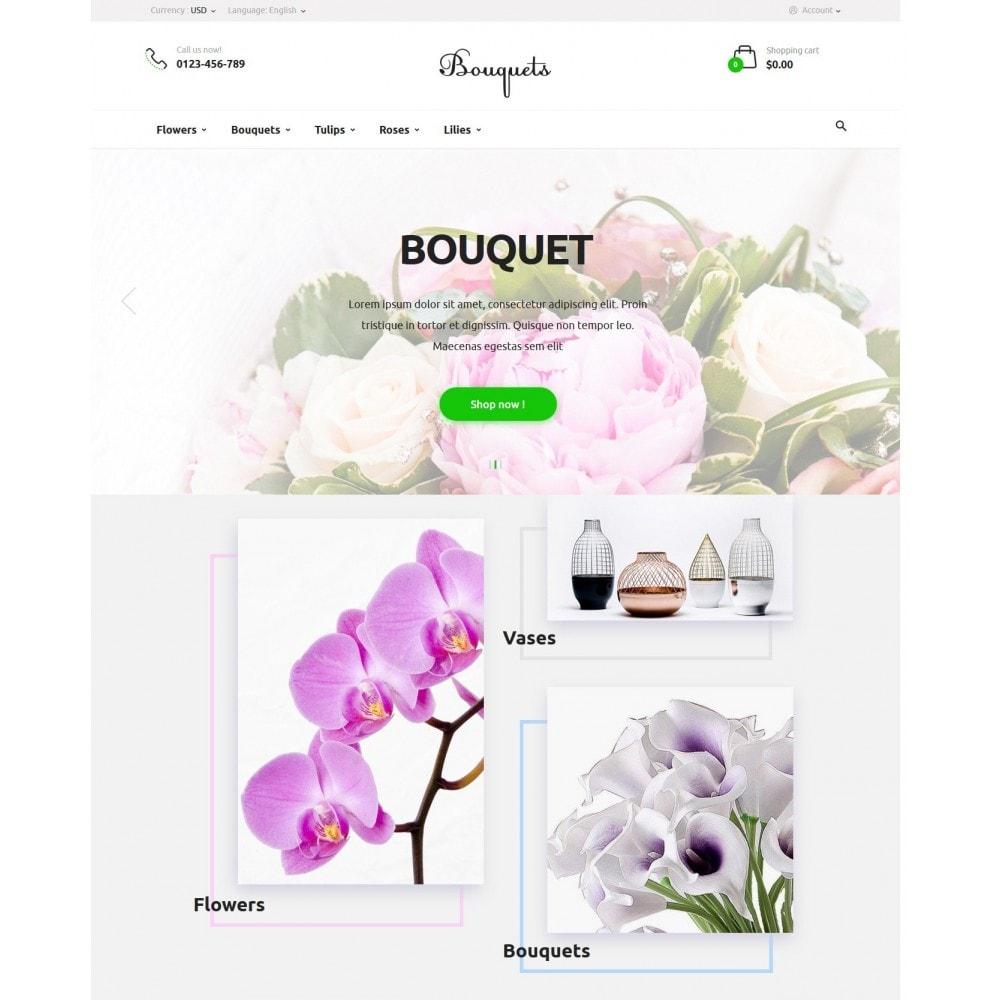 theme - Подарки, Цветы и праздничные товары - Bouquets Flower Shop - 2