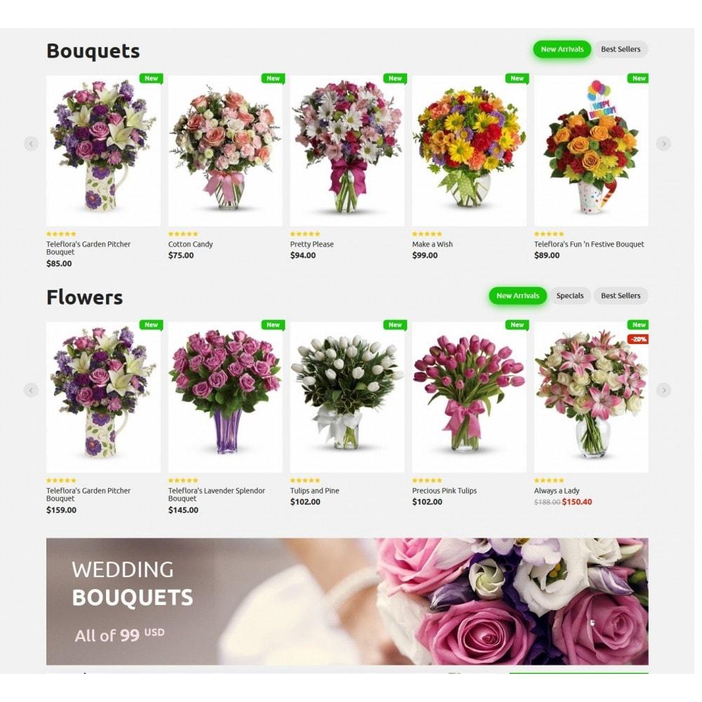 theme - Подарки, Цветы и праздничные товары - Bouquets Flower Shop - 3