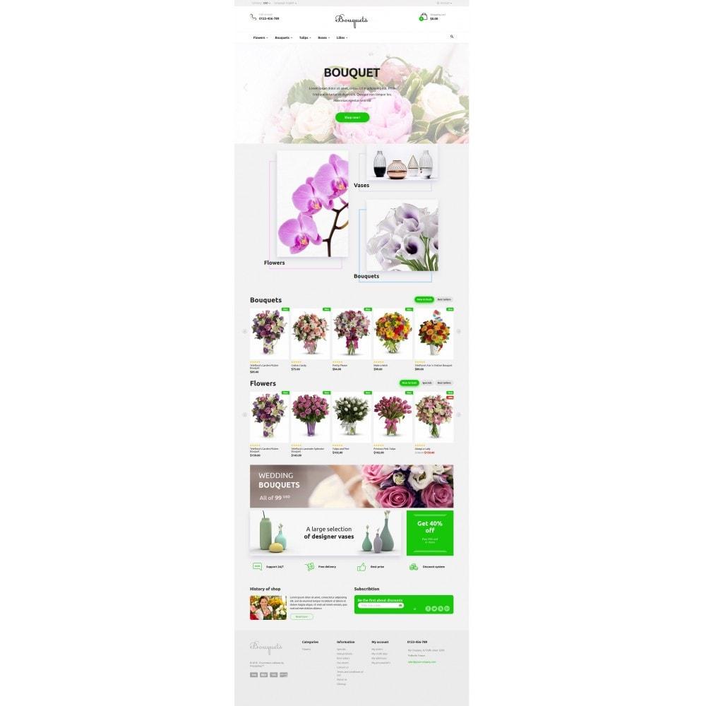 theme - Подарки, Цветы и праздничные товары - Bouquets Flower Shop - 4