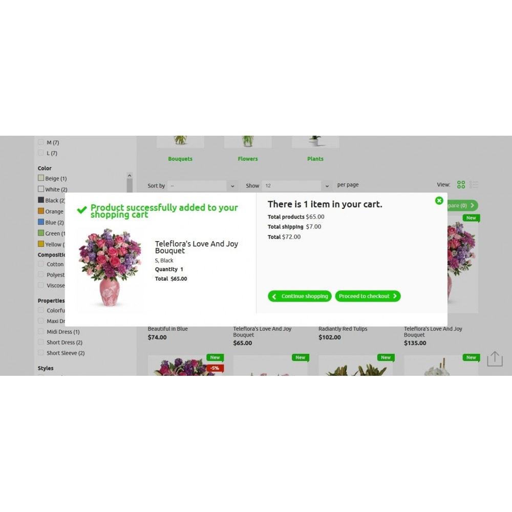 theme - Подарки, Цветы и праздничные товары - Bouquets Flower Shop - 6
