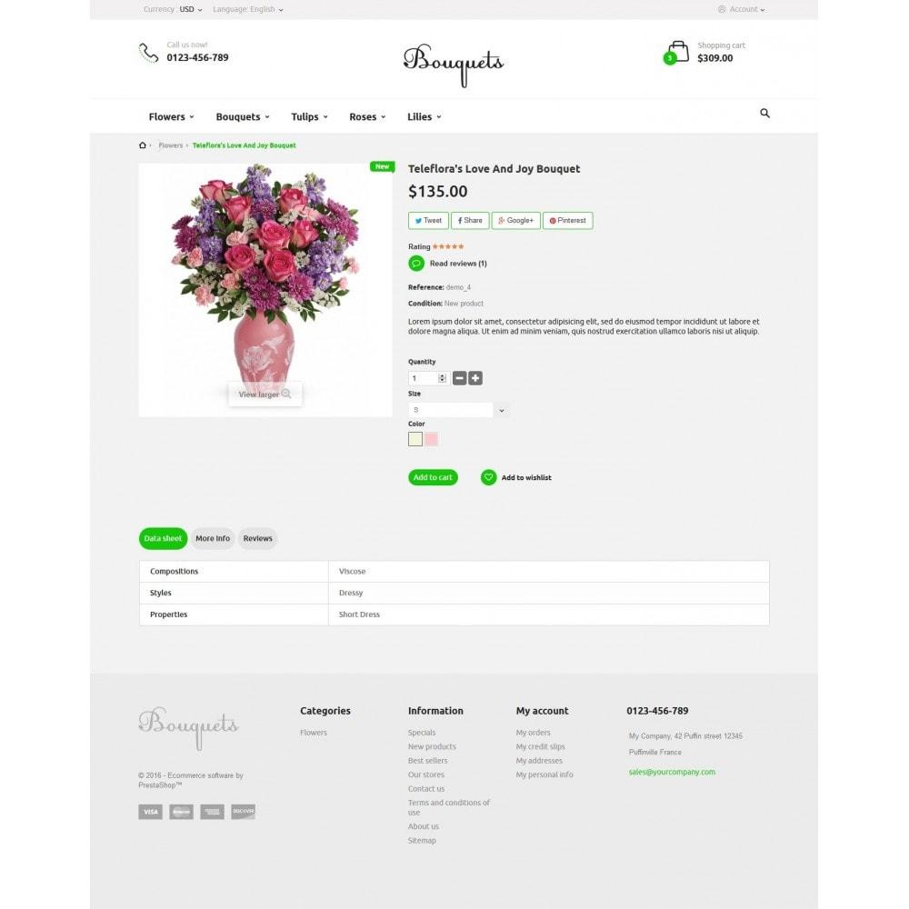 theme - Подарки, Цветы и праздничные товары - Bouquets Flower Shop - 7
