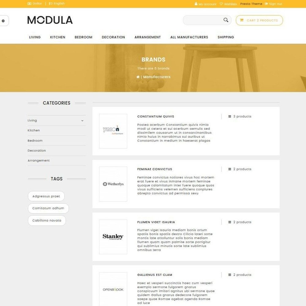 theme - Dom & Ogród - Modula - 8