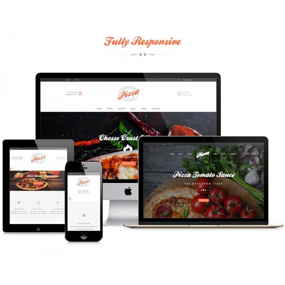 theme - Food & Restaurant - JMS Pizza - 1