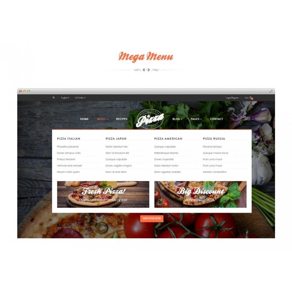 theme - Продовольствие и рестораны - JMS Pizza - 2
