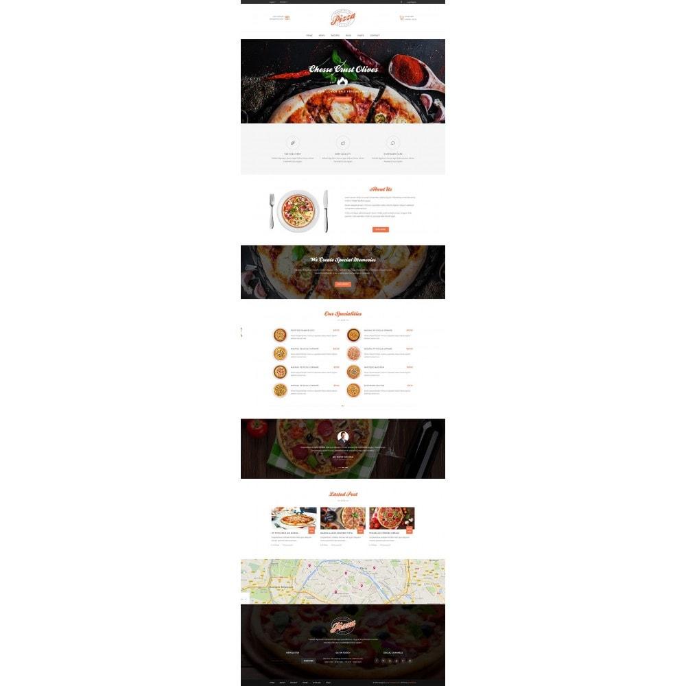 theme - Gastronomía y Restauración - JMS Pizza - 5
