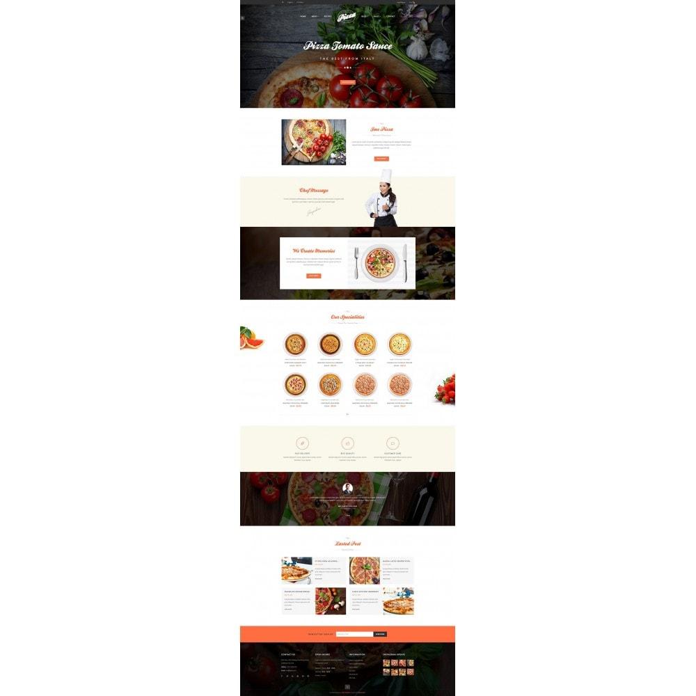 theme - Gastronomía y Restauración - JMS Pizza - 6